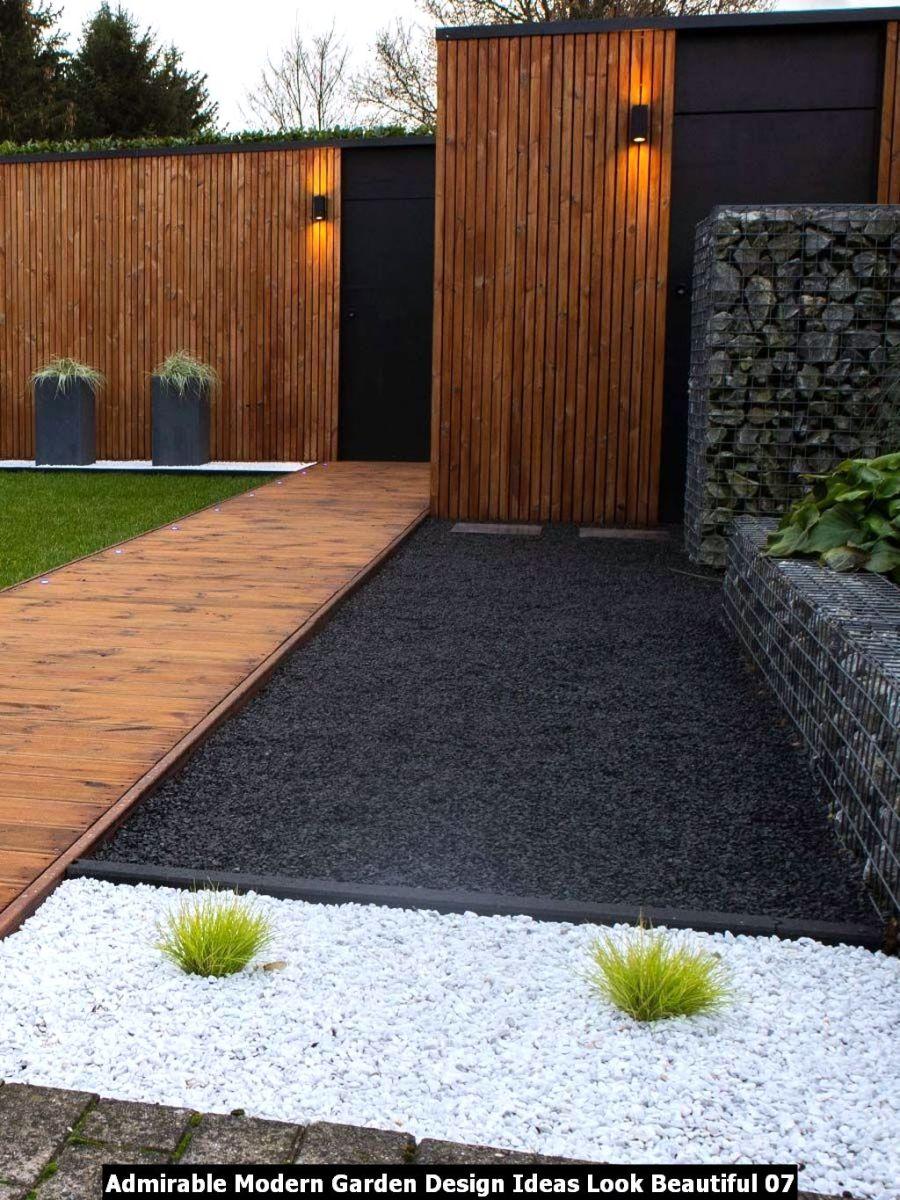 Admirable Modern Garden Design Ideas Look Beautiful 07