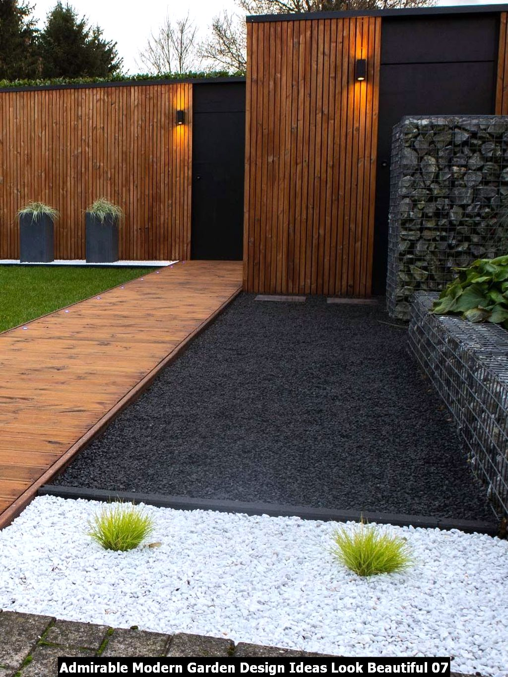 Admirable Modern Garden Design Ideas Look Beautiful 07