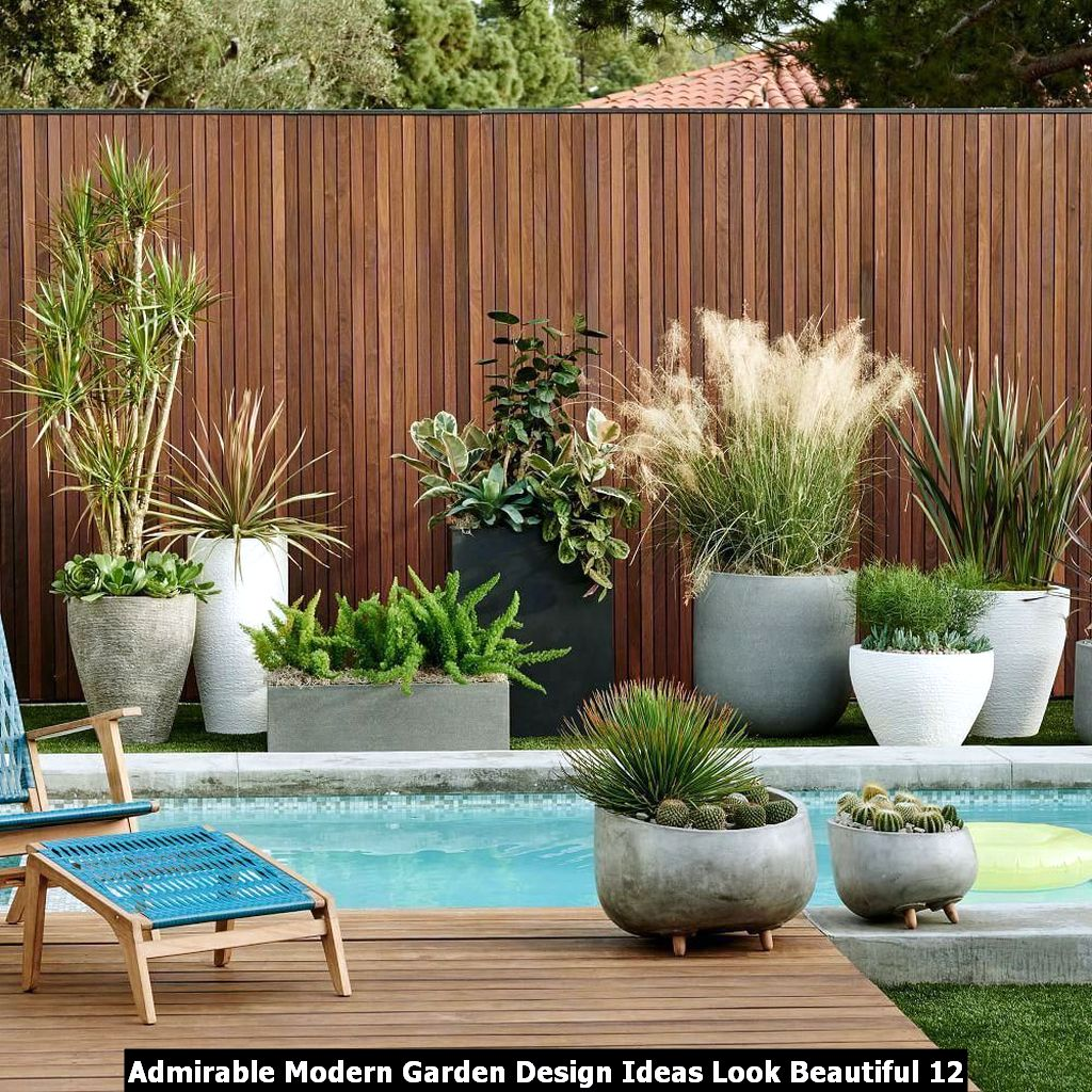 Admirable Modern Garden Design Ideas Look Beautiful 12