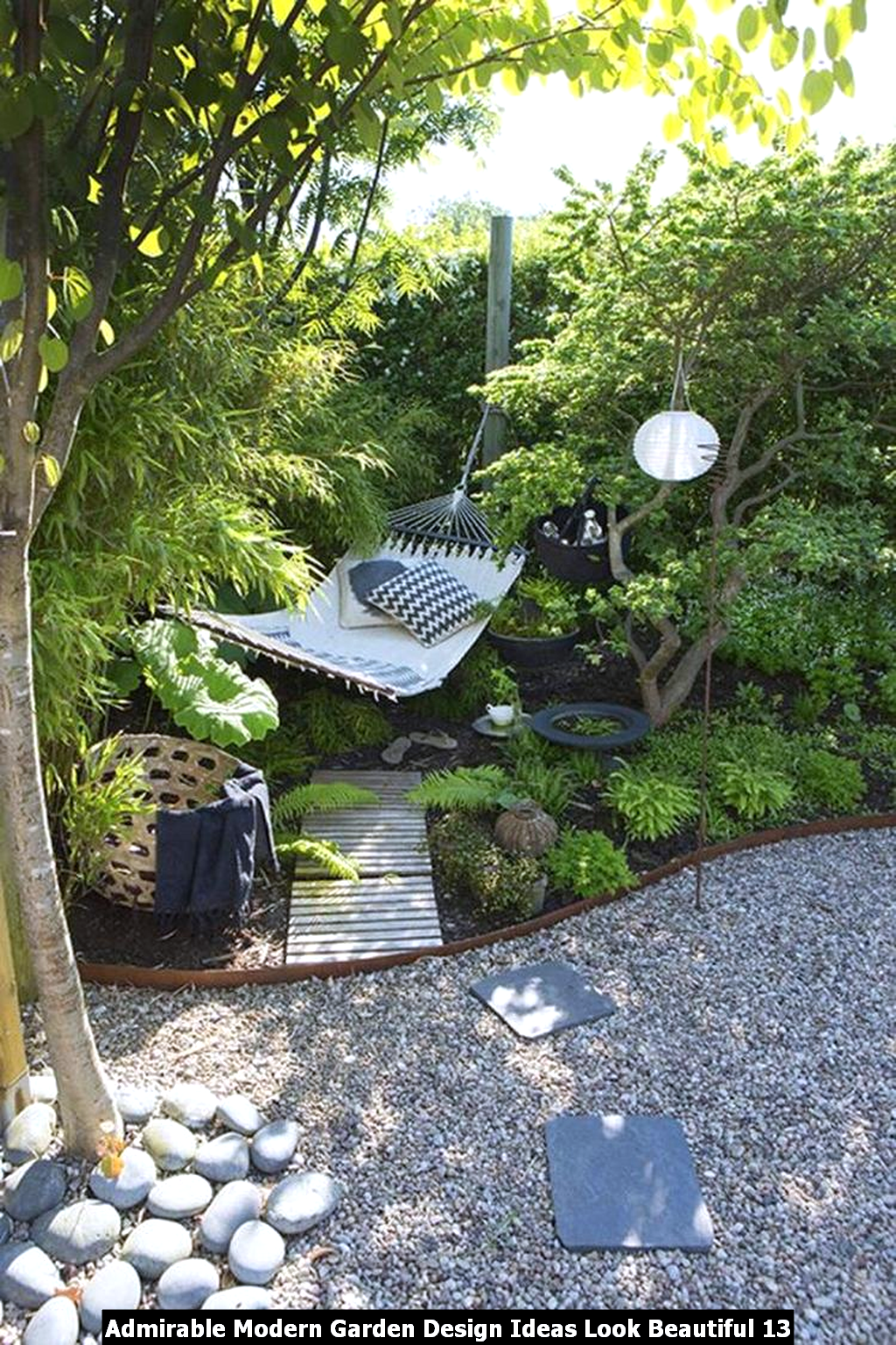 Admirable Modern Garden Design Ideas Look Beautiful 13