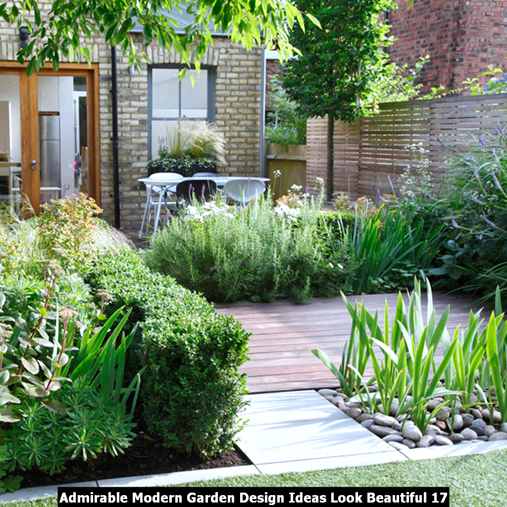 Admirable Modern Garden Design Ideas Look Beautiful 17