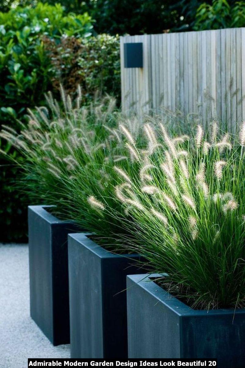 Admirable Modern Garden Design Ideas Look Beautiful 20