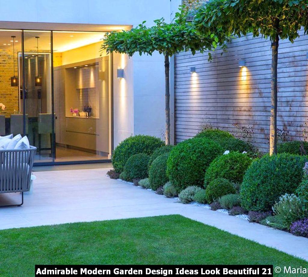 Admirable Modern Garden Design Ideas Look Beautiful 21