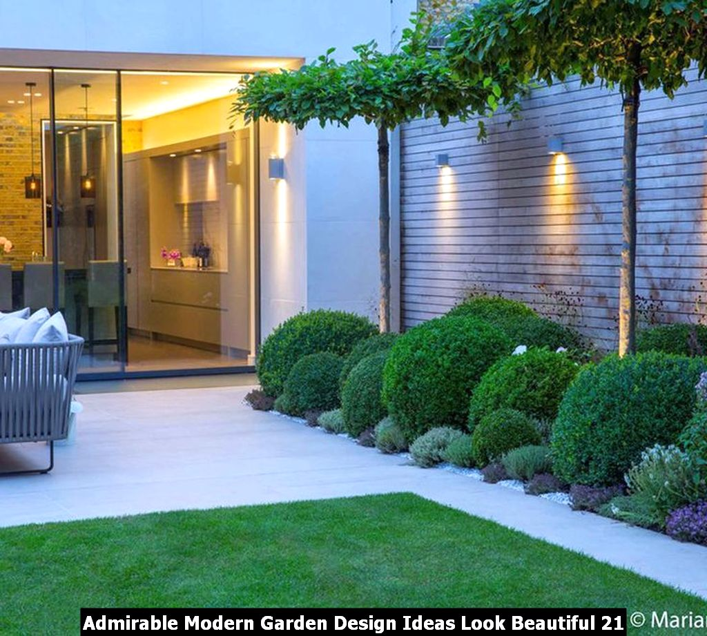 Admirable Modern Garden Design Ideas Look Beautiful 21