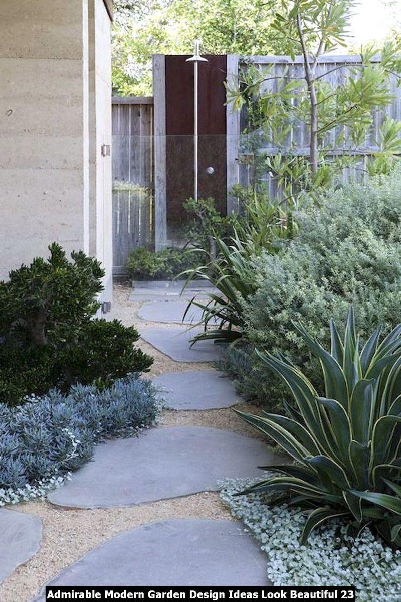 Admirable Modern Garden Design Ideas Look Beautiful 23