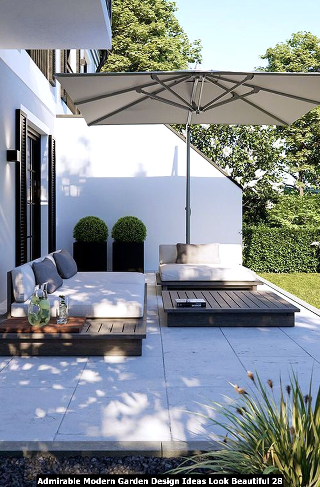 Admirable Modern Garden Design Ideas Look Beautiful 28