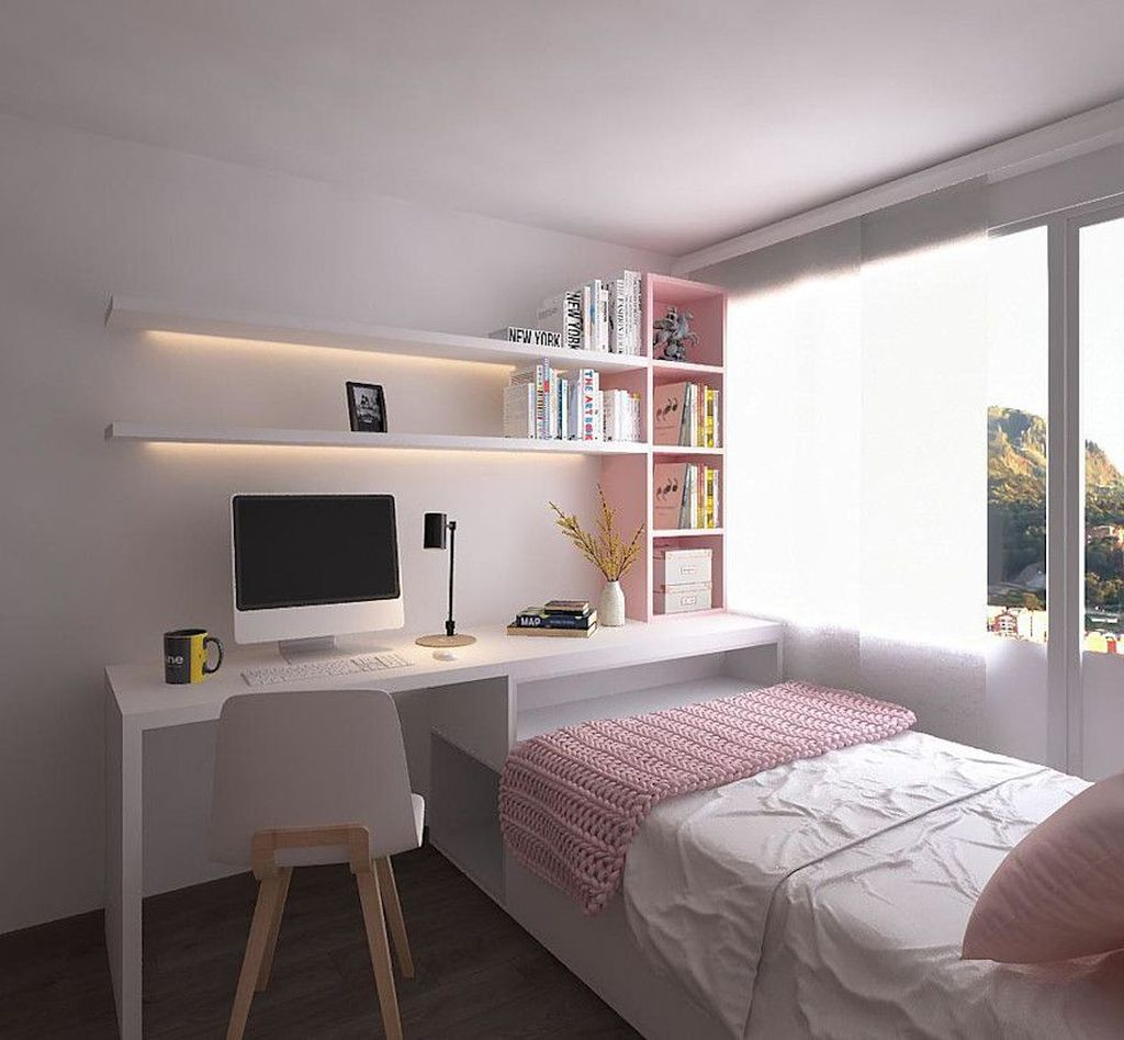 Admirable Tiny Bedroom Design Ideas 29