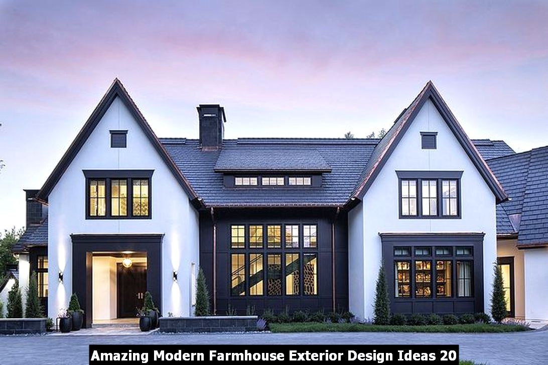 Amazing Modern Farmhouse Exterior Design Ideas 20