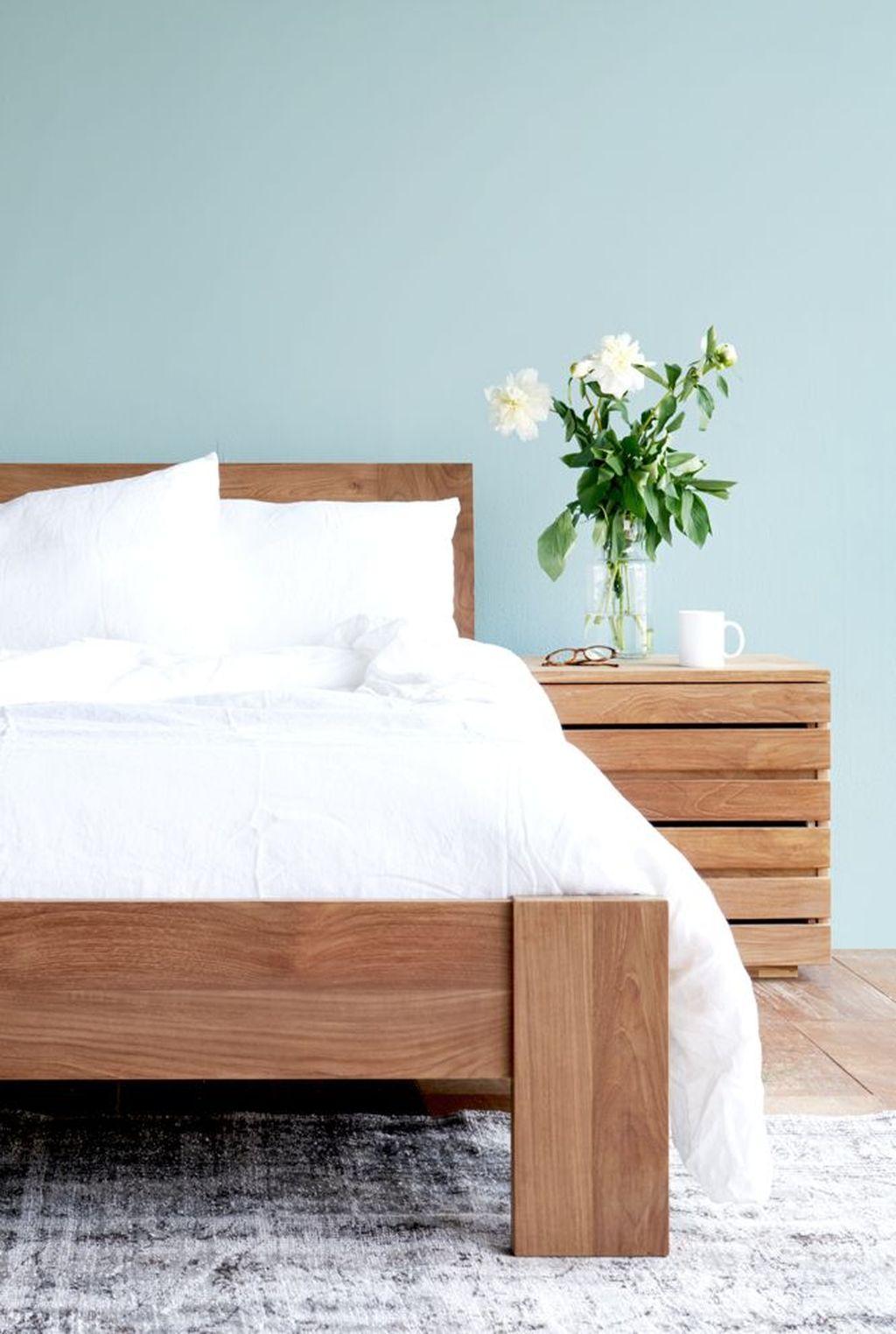 Amazing Vintage Wooden Bed Frame Design Ideas 29