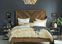 Amazing Vintage Wooden Bed Frame Design Ideas 30