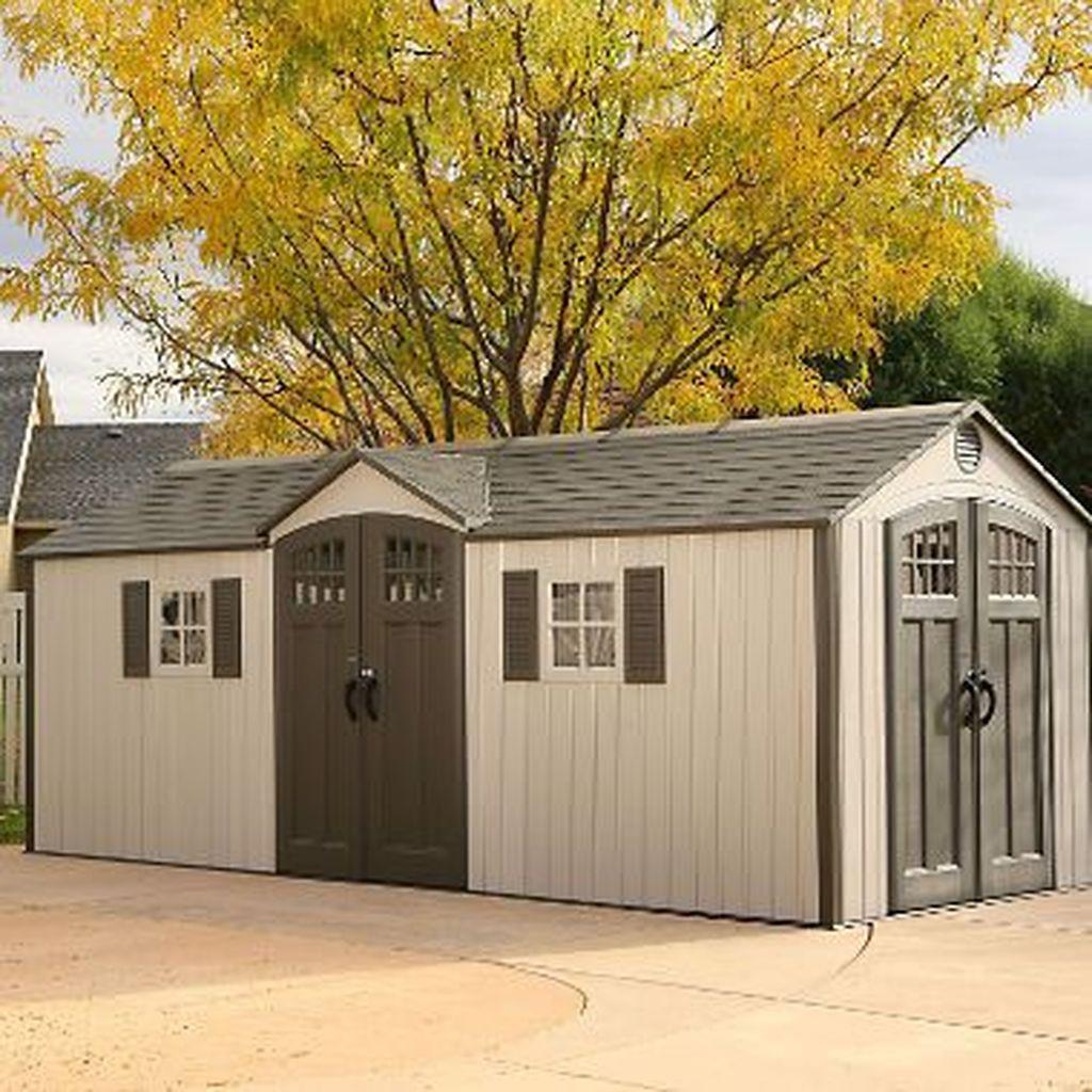 Awesome Backyard Storage Sheds Design Ideas 05