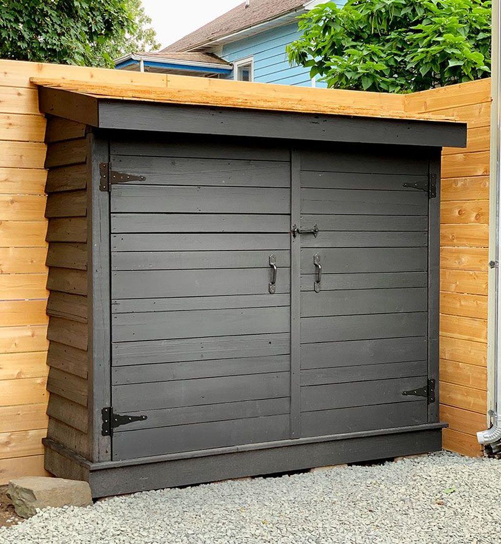Awesome Backyard Storage Sheds Design Ideas 07
