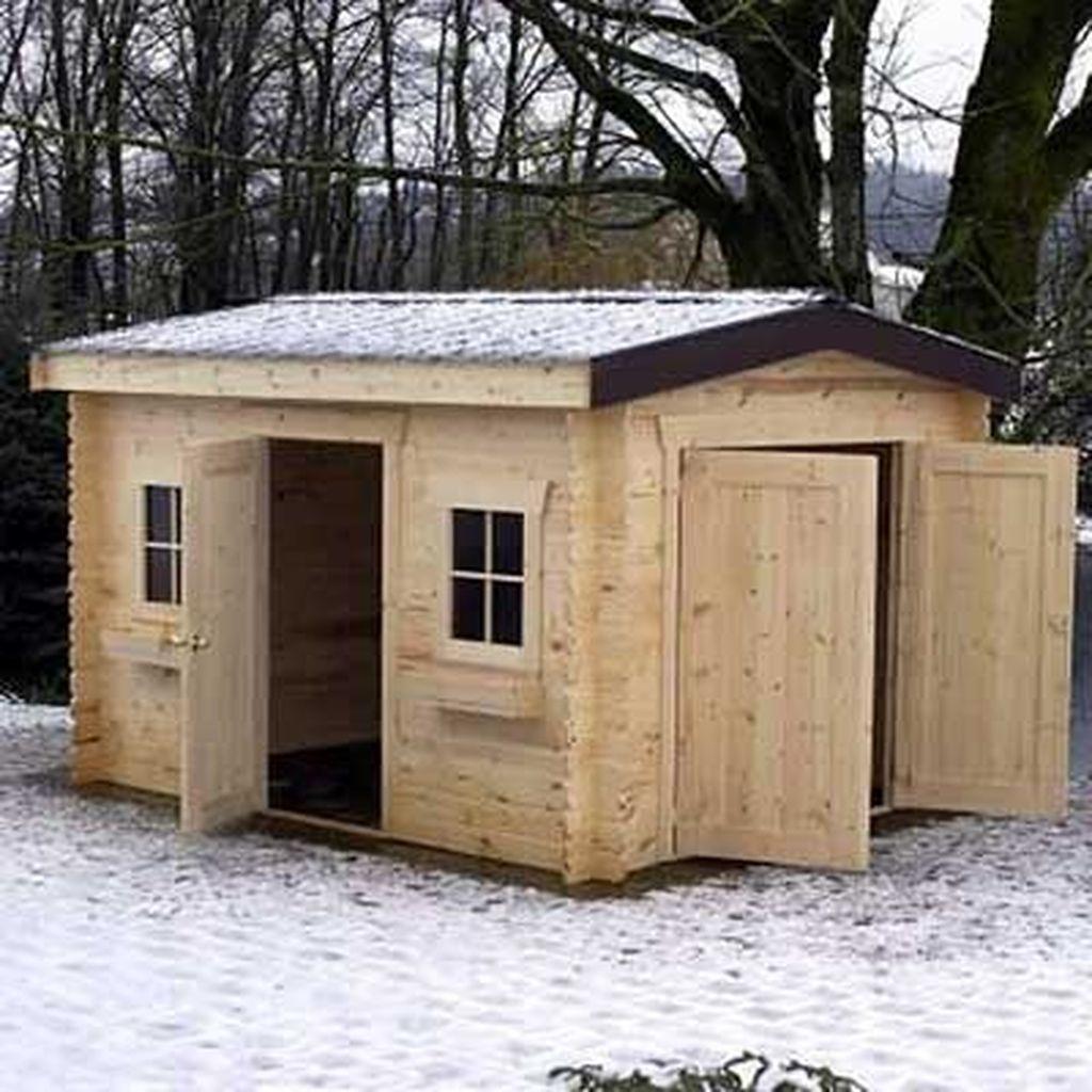 Awesome Backyard Storage Sheds Design Ideas 14