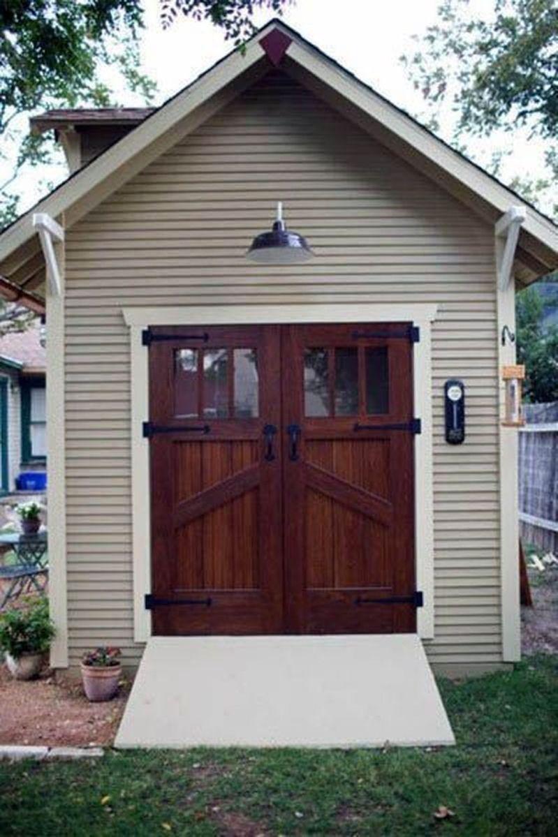 Awesome Backyard Storage Sheds Design Ideas 19