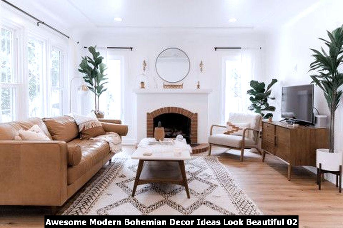 Awesome Modern Bohemian Decor Ideas Look Beautiful 02