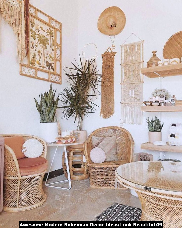 Awesome Modern Bohemian Decor Ideas Look Beautiful 09