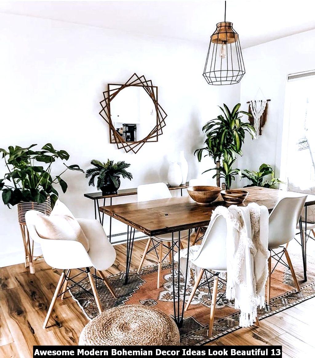 Awesome Modern Bohemian Decor Ideas Look Beautiful 13