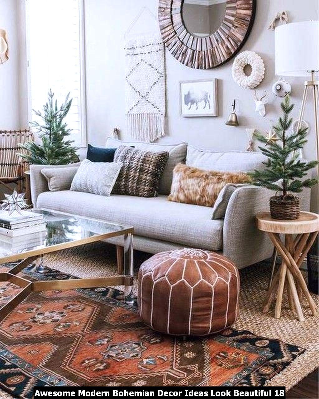Awesome Modern Bohemian Decor Ideas Look Beautiful 18
