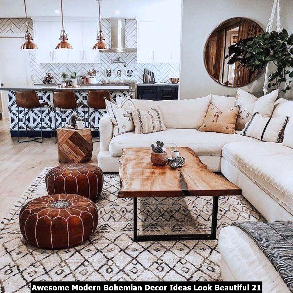 Awesome Modern Bohemian Decor Ideas Look Beautiful 21