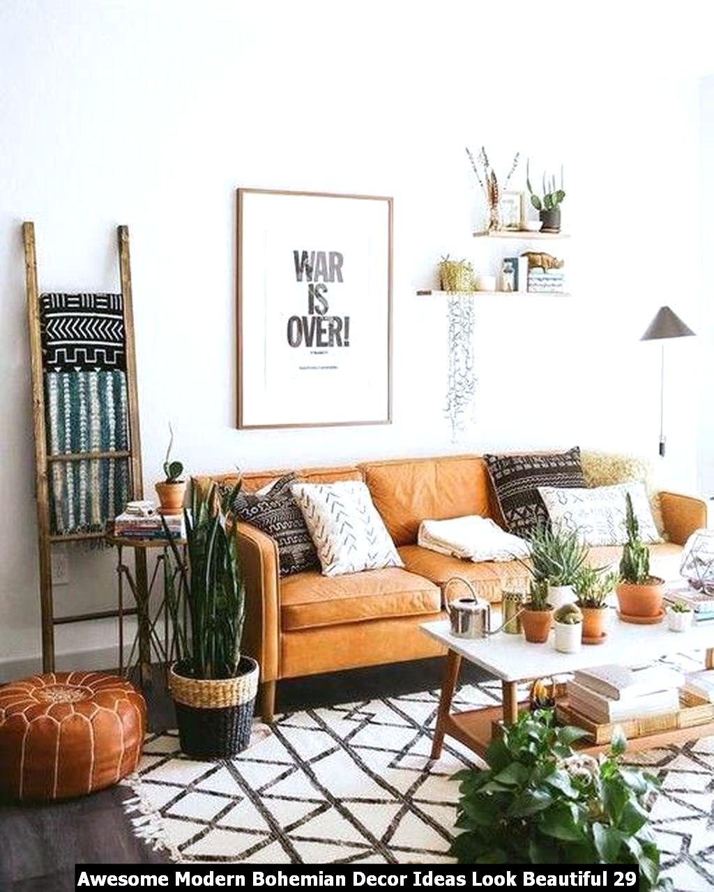 Awesome Modern Bohemian Decor Ideas Look Beautiful 29