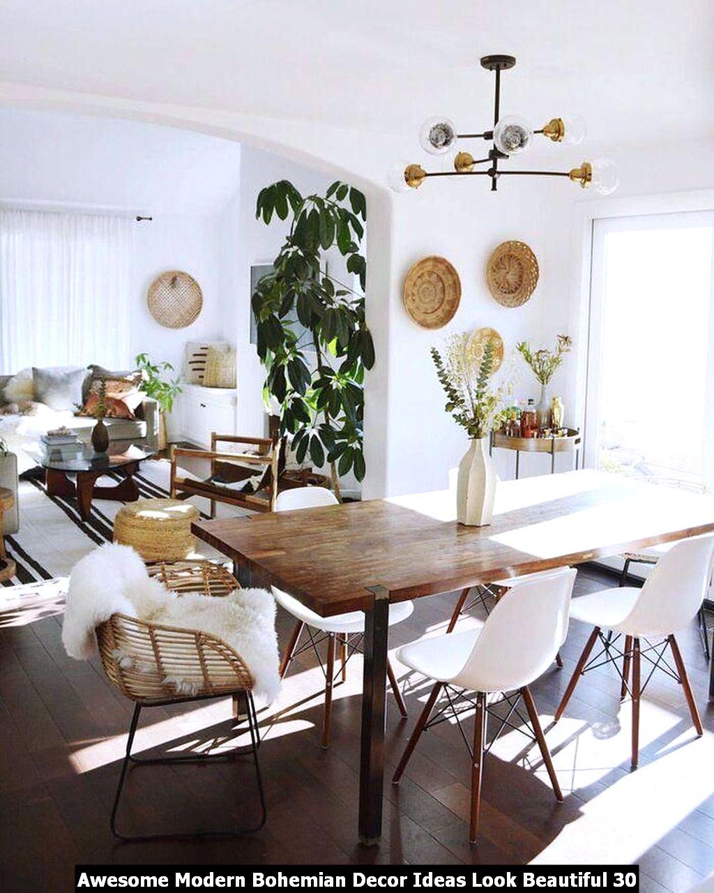 Awesome Modern Bohemian Decor Ideas Look Beautiful 30