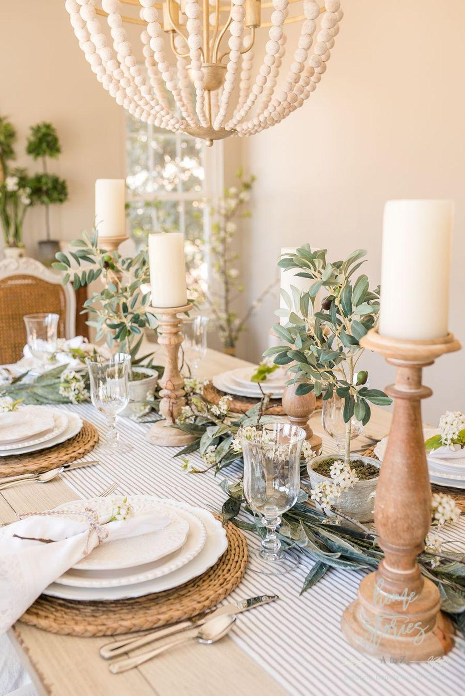 Beautiful Farmhouse Spring Table Decor Ideas 07