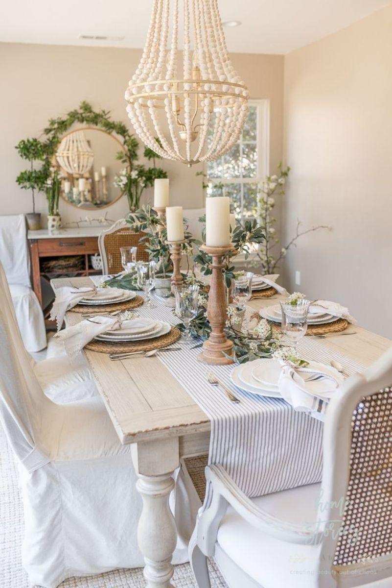 Beautiful Farmhouse Spring Table Decor Ideas 11