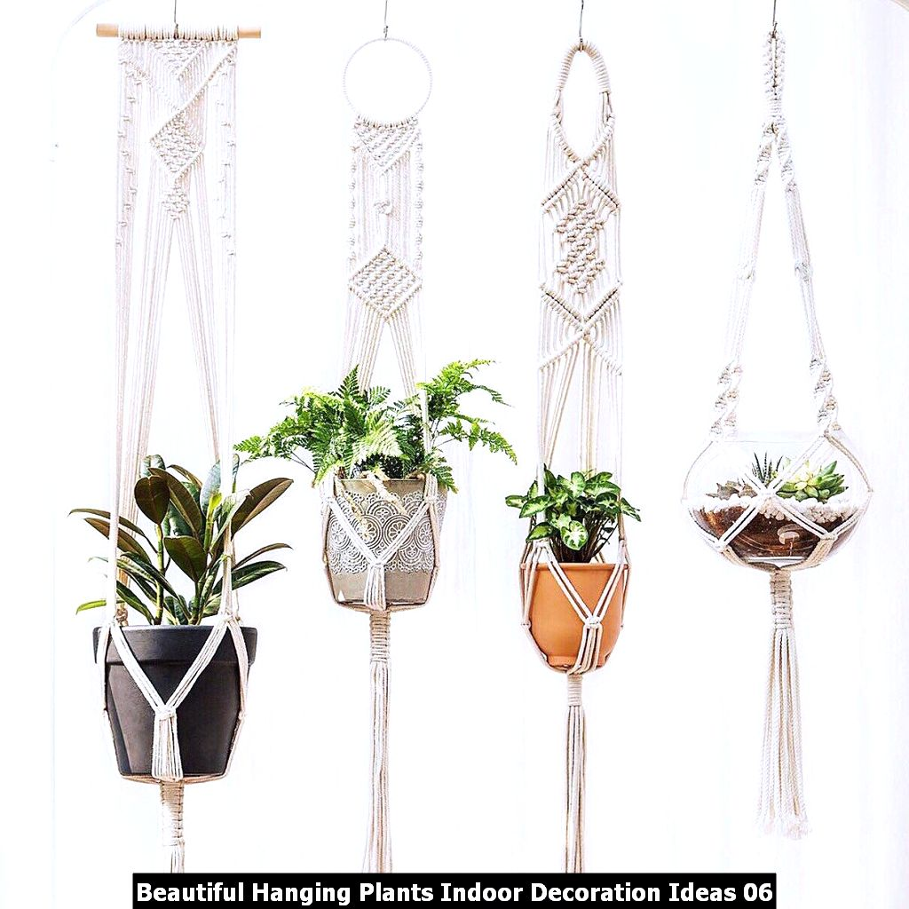 Beautiful Hanging Plants Indoor Decoration Ideas 06