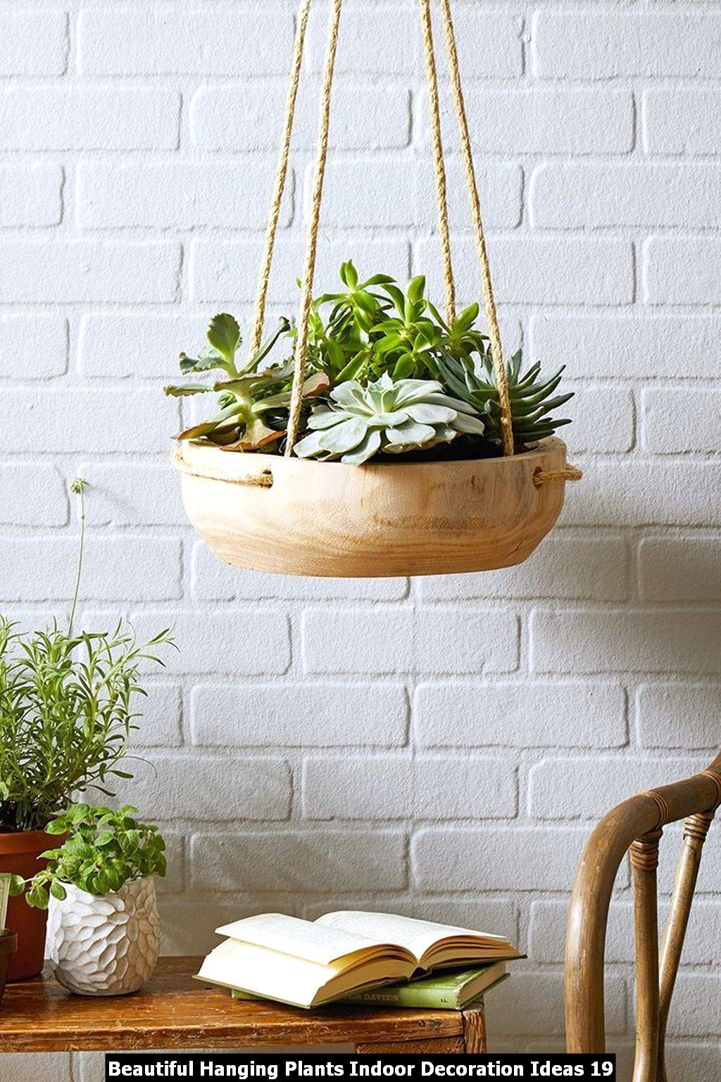 Beautiful Hanging Plants Indoor Decoration Ideas 19