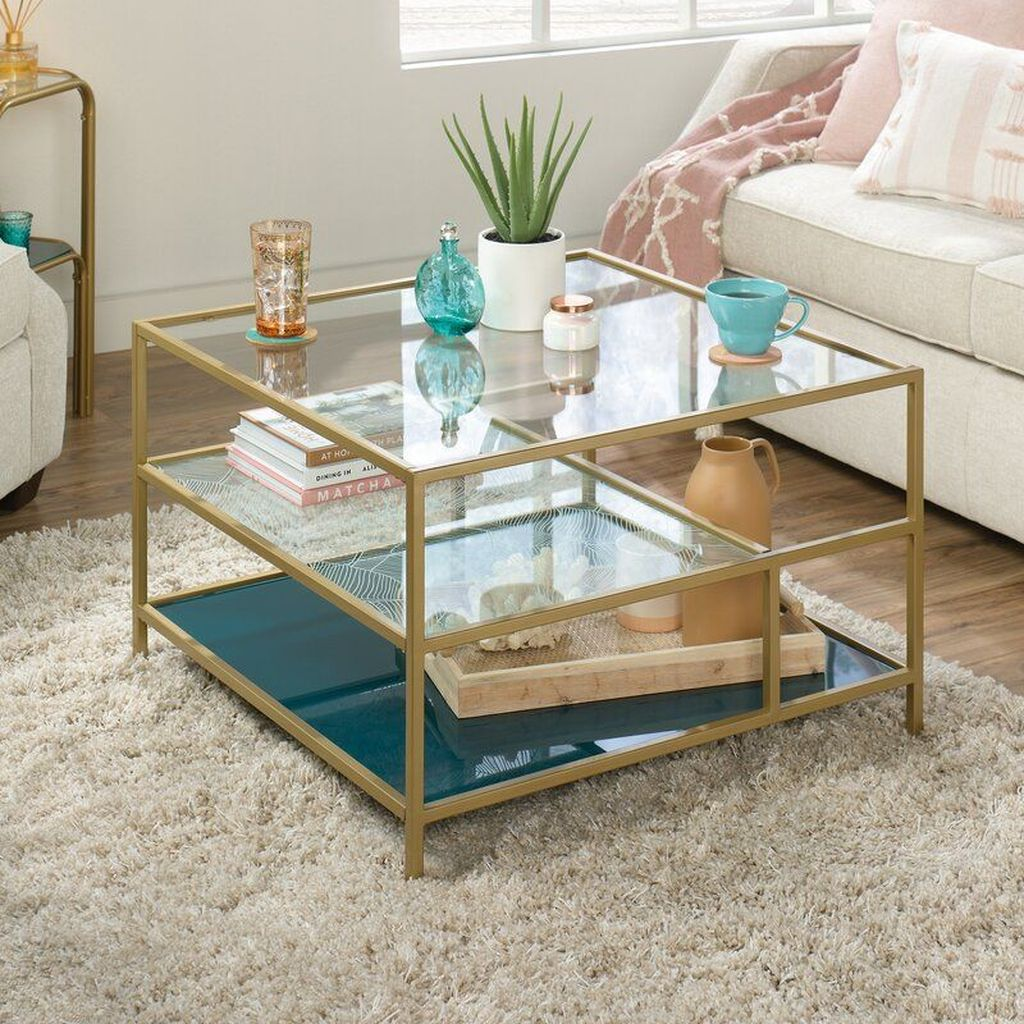 Beautiful Living Room Coffee Table Decor Ideas 16