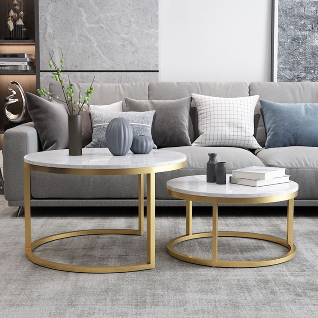 Beautiful Living Room Coffee Table Decor Ideas 29