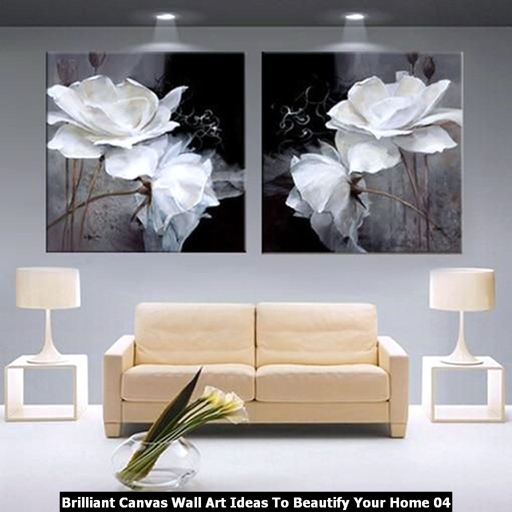 Brilliant Canvas Wall Art Ideas To Beautify Your Home 04