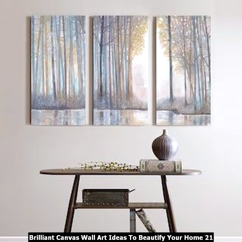 Brilliant Canvas Wall Art Ideas To Beautify Your Home 21