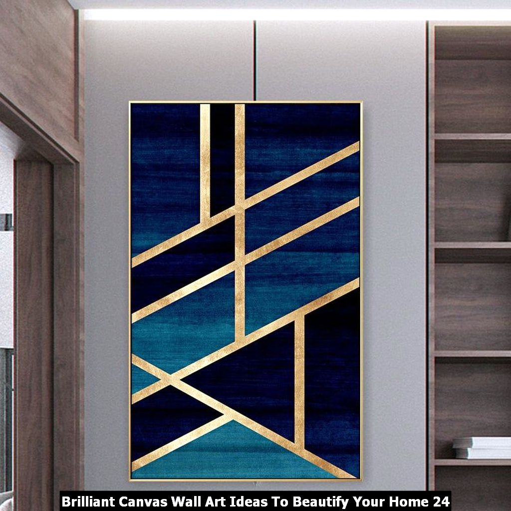 Brilliant Canvas Wall Art Ideas To Beautify Your Home 24