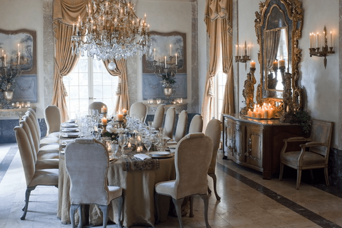 Brilliant French Dining Room Decor Ideas 11