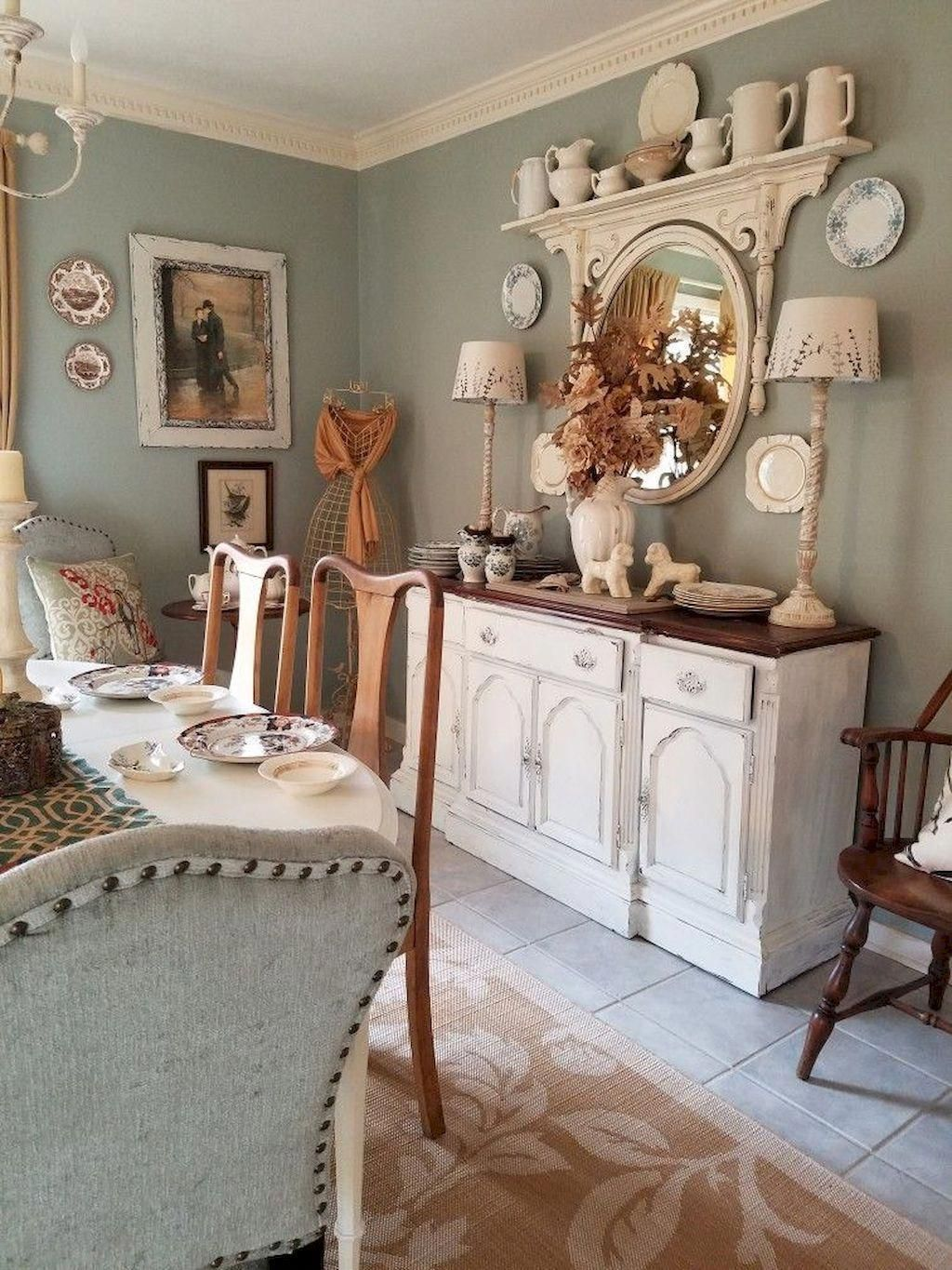 Brilliant French Dining Room Decor Ideas 12
