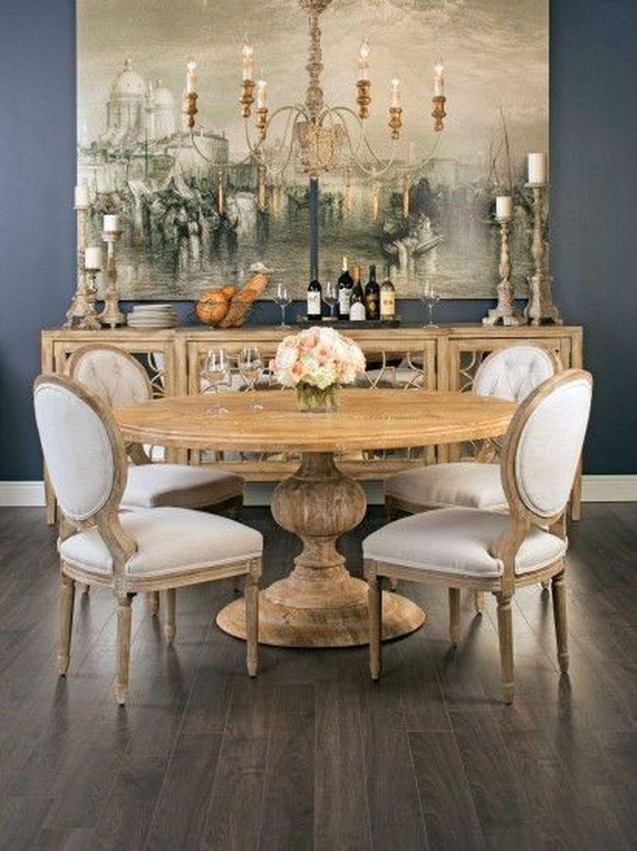 Brilliant French Dining Room Decor Ideas 23