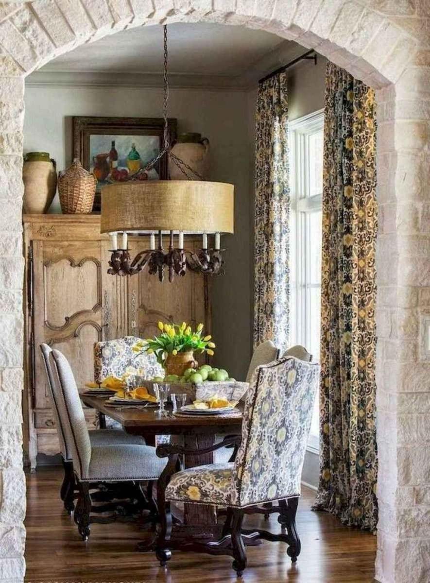 Brilliant French Dining Room Decor Ideas 28