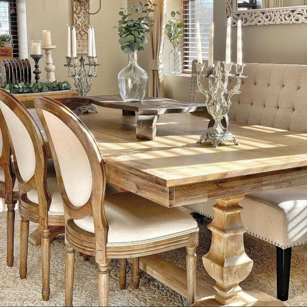Brilliant French Dining Room Decor Ideas 32