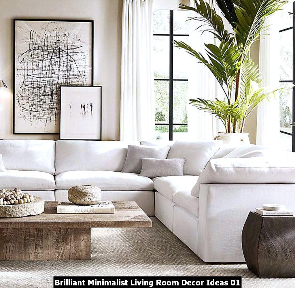 Brilliant Minimalist Living Room Decor Ideas 01