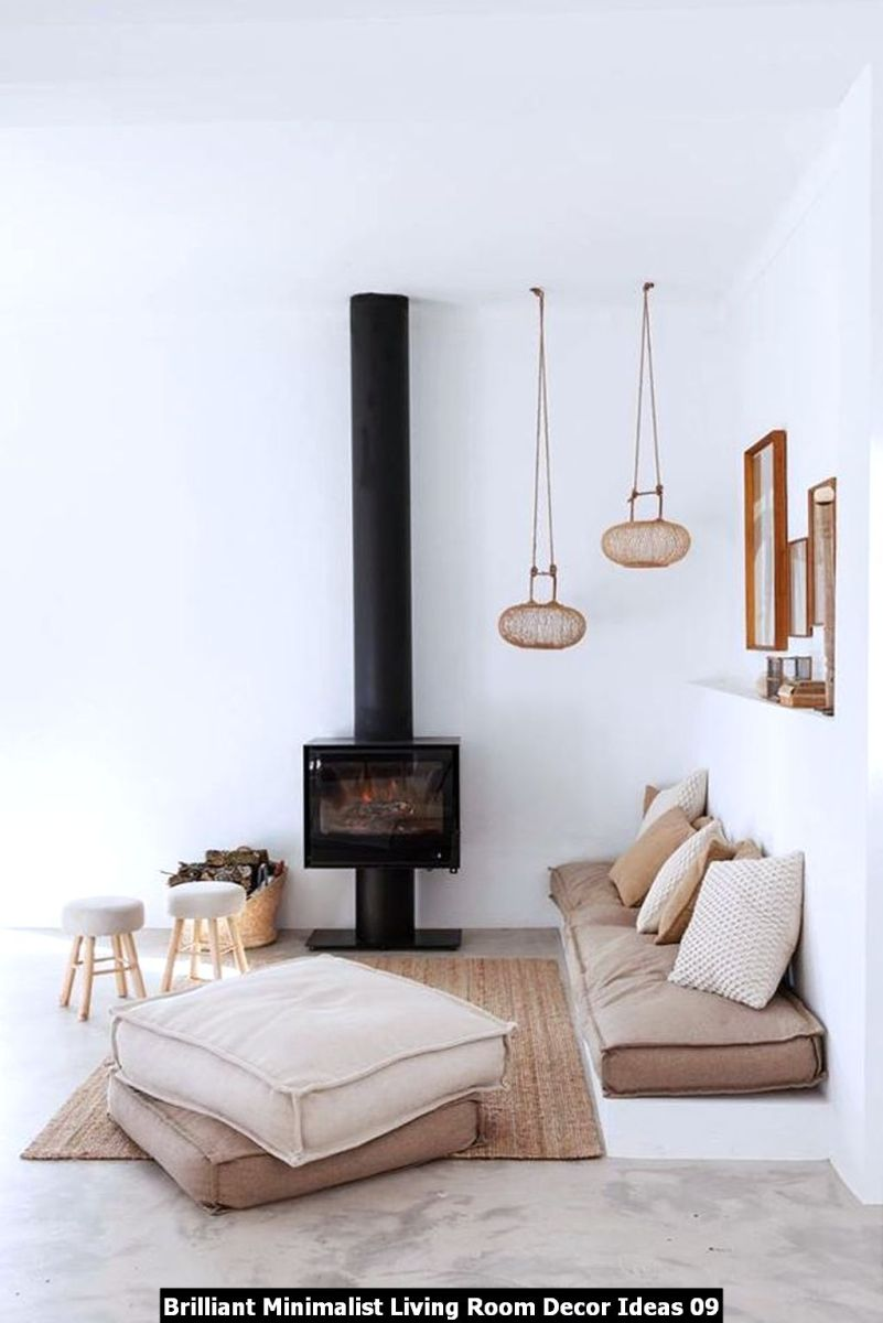 Brilliant Minimalist Living Room Decor Ideas 09