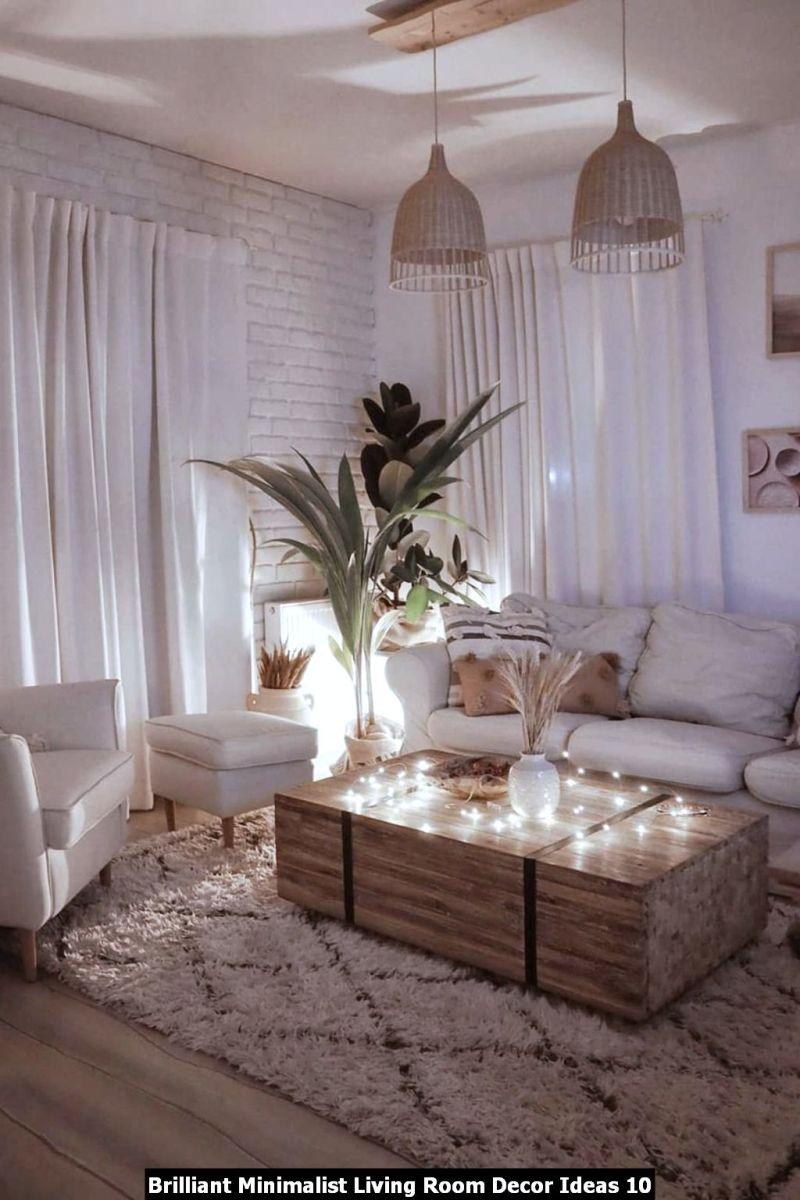 Brilliant Minimalist Living Room Decor Ideas 10