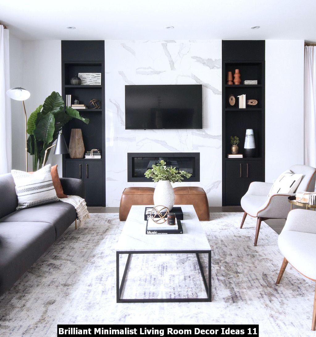 Brilliant Minimalist Living Room Decor Ideas 11