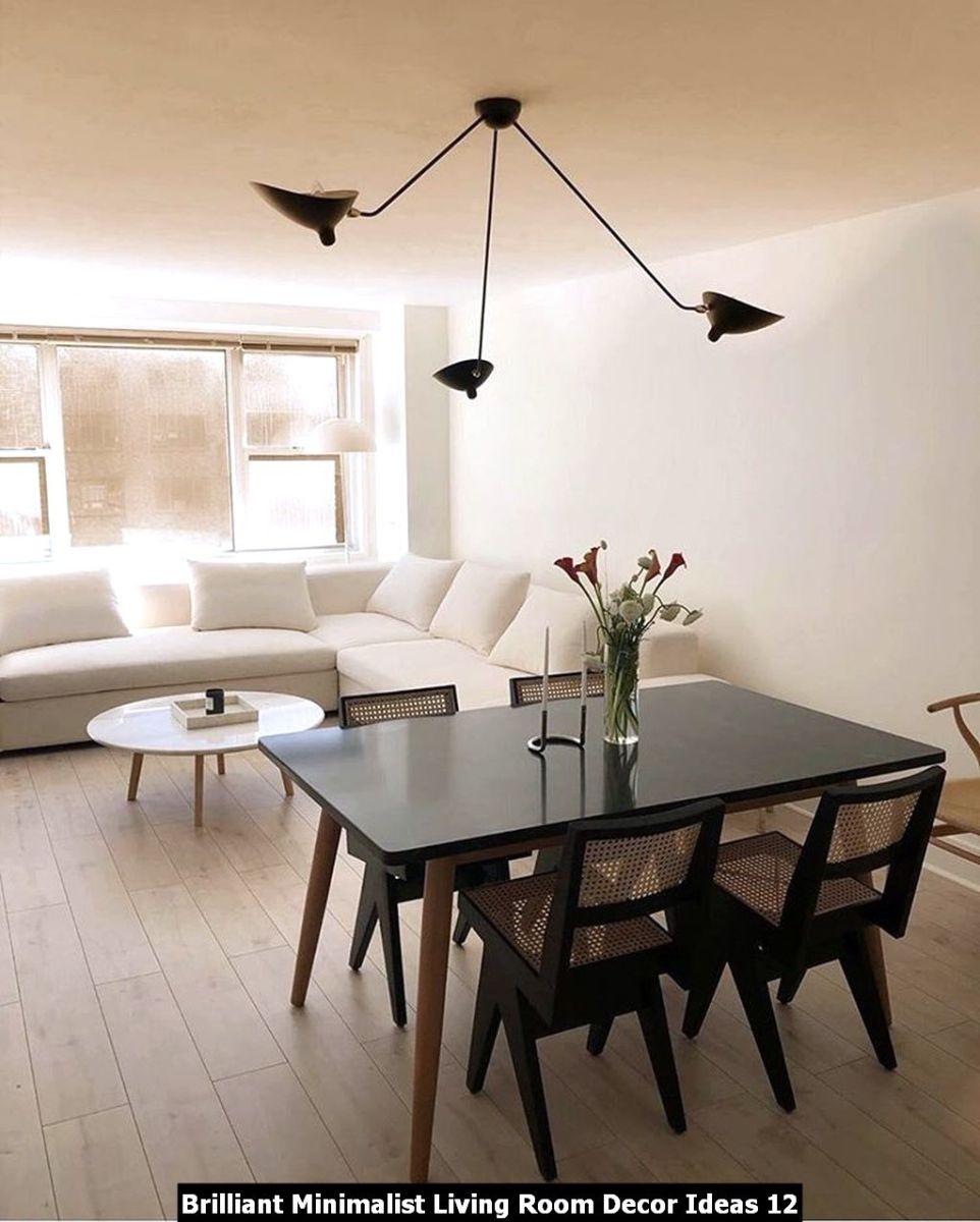 Brilliant Minimalist Living Room Decor Ideas 12
