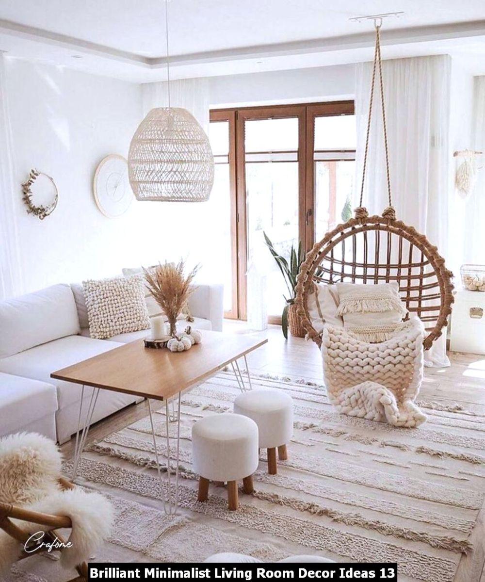 Brilliant Minimalist Living Room Decor Ideas 13