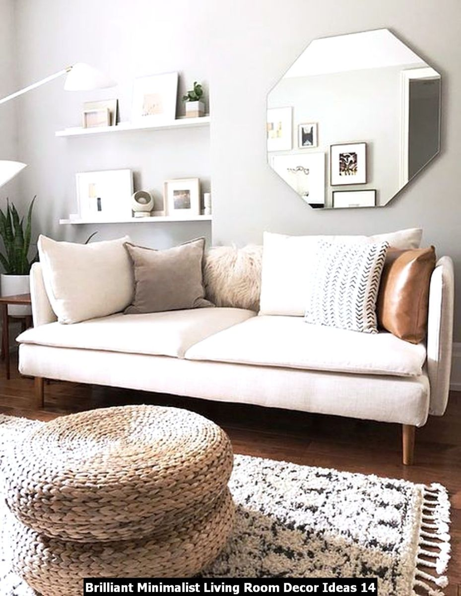 Brilliant Minimalist Living Room Decor Ideas 14