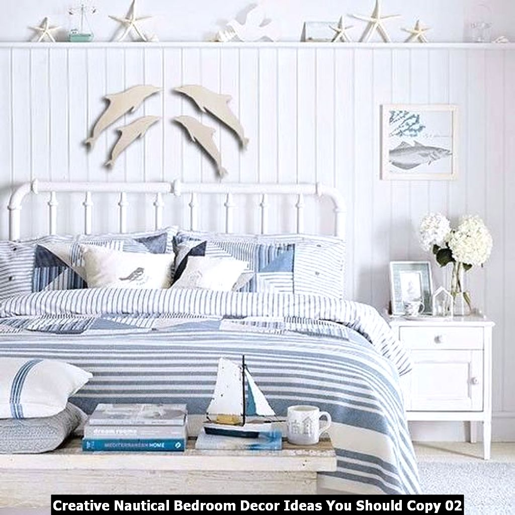 Creative Nautical Bedroom Decor Ideas You Should Copy 02