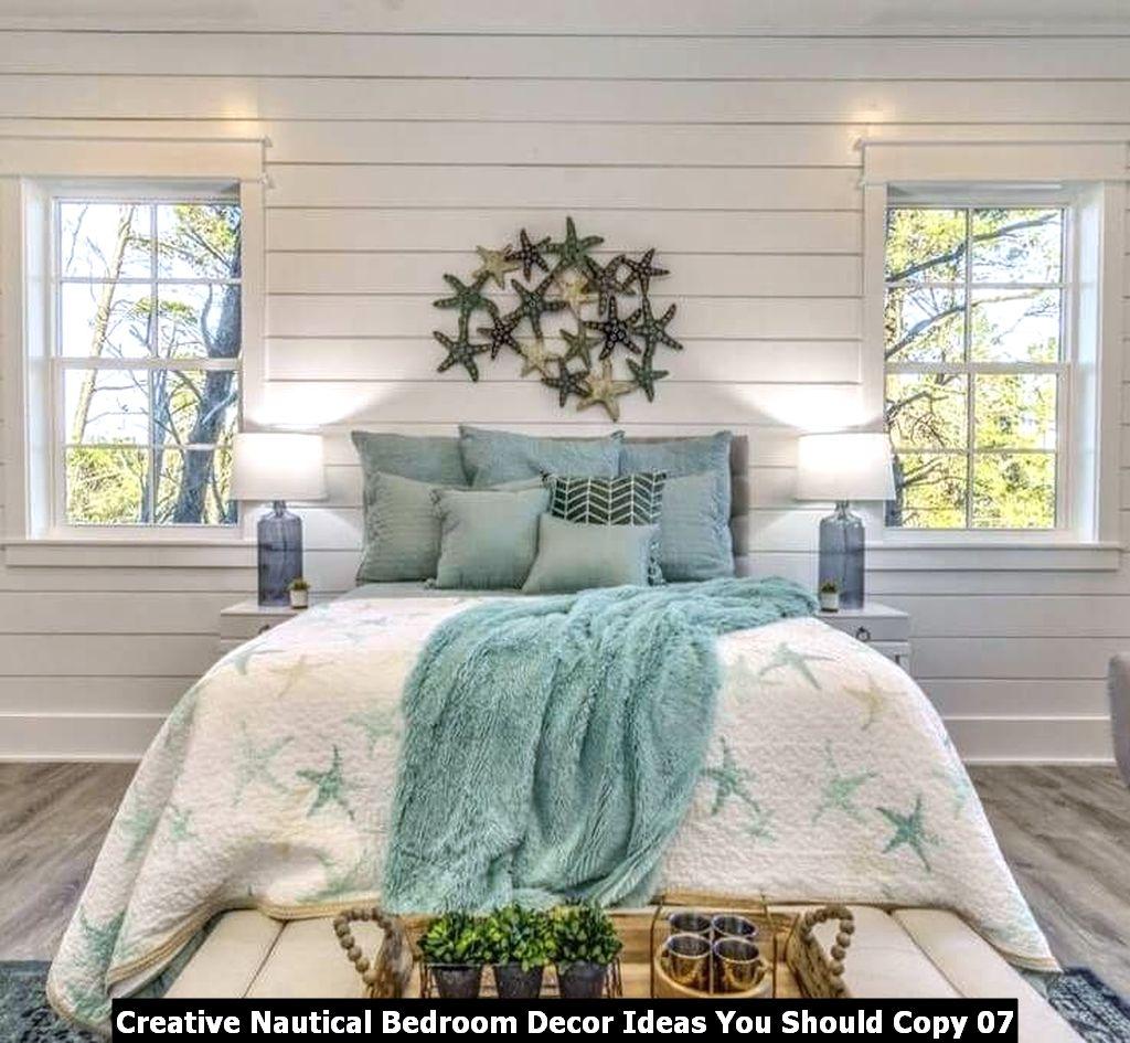 Creative Nautical Bedroom Decor Ideas You Should Copy 07