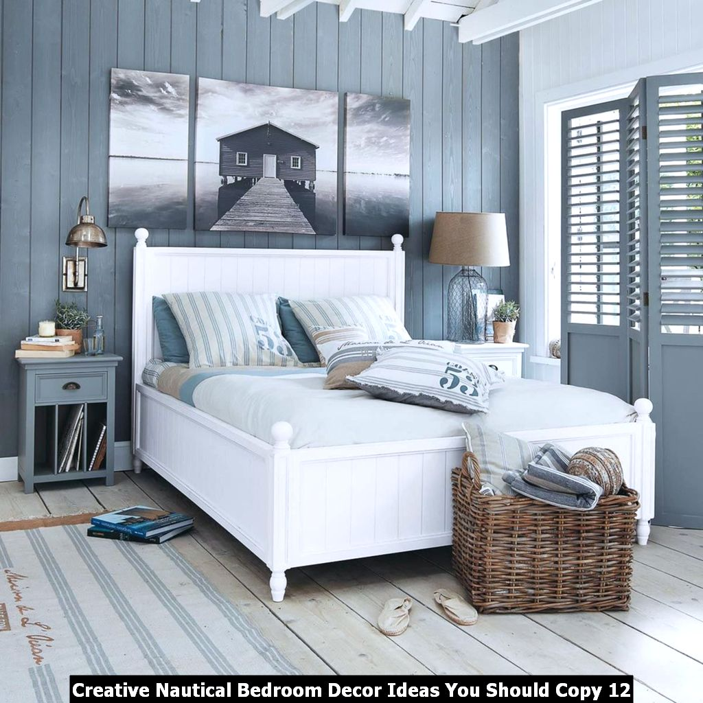 Creative Nautical Bedroom Decor Ideas You Should Copy 12