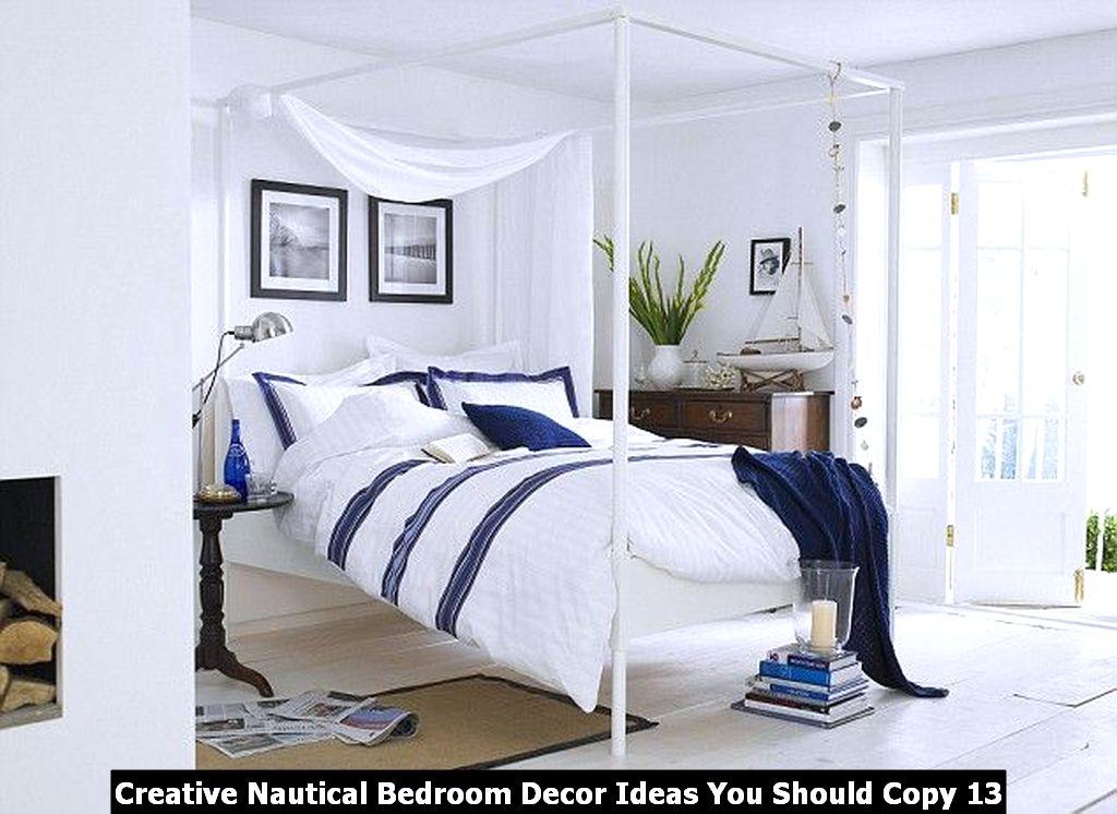 Creative Nautical Bedroom Decor Ideas You Should Copy 13